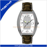 Traditional Business Men′s Stainless Steel Quartz Wrist Watch