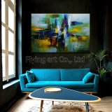 Colorful Abstract Craft Oil Paintings for Home Decoration