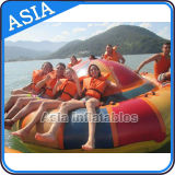 PVC Coated Water Games Type UFO Inflatable Disco Boat