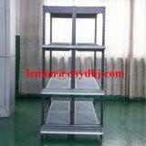 Australia Style Supermarket Zinc Metal Wire Mesh Display Shelf