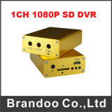 1080P 1 Channel DVR Support 128GB SD Card