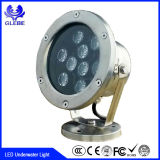 9W Shenzhen Factory Waterproof Decorative Pool Lighting RGB IP68 LED Underwater Light
