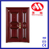 2017 Steel Fire Door with CCC and Test Report, Son-Mother Security Door