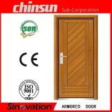 Best Selling Steel Wooden Armored Door with Good Quality
