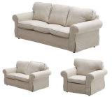 New American Style Fabric Sofa Set 1+2+3 for Home Living Room (HC1023)