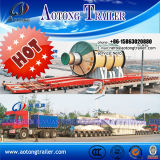 Multi Axles Self Propelled Modular Trailer Smpt Heavy Equipment Transporter