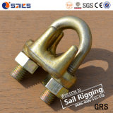 Yellow Chromated Type wire rope clip
