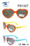 Heart Shape Colorful Children Kid Plastic Sunglasses (PS1327)