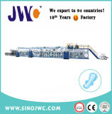 Cheap Price Ultra-Thin Disposal Sanitary Napkin Machine Eco-Friendly Jwc-Kbd350