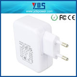 4 Ports USB Power Wall Mobile Phone Charger Adapter