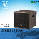 T-12s Single Bass 12′′ Speaker Available for Home Theater Woofer