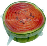 Promtion Kitchen Watermelon Silicone Fruit Cover