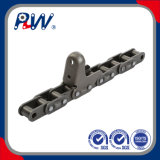 Corn Harvest Agricultural Chain with Attachment