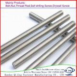 Class 4.8-12.9 Carbon Steel Thread Rod with Cheap Price High Quality/Thread Bar