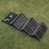 Flexible 18V 40W Foldable Solar Charger with Small Solar Panel