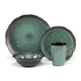 Crack Design Ceramic Stoneware Dinnerware Set Home Plates