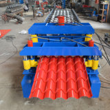 PPGI PPGL Glazed Steel Roof Roll Forming Machine with Ce
