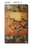 Wholesale Handmade Golden Foil Modern Oil Painting (LH-501004)