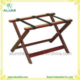 Wooden Suitcase Rack, Foldable Wooden Luggage Rack for Hotel Bedroom