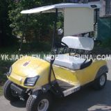 Cheap Price 2 Seat Electrical Sightseeing Golf Karts with Sunshade