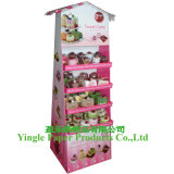 Pop Display, Corrugated Paper display with Hooks, Display Stand, Cardboard Display (HD-YL04)