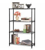 Assembly Adjustable Powder Coating Metal Furniture Home Goods Shelf