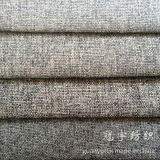 Decorative Linen Fabric with Polyester and Nylon for Sofa Covers