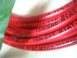 Smooth / Cloth Surface Industry Rubber High Pressure Hydraulic Hose
