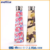 Hot Sale 304 Stainless Steel Colored Customized Airtight Drink Bottles