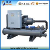 60 Ton Hanbell Screw Industrial Chiller System Water Cooled Type