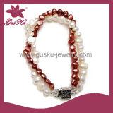 Fashion Special Natural Pearl Bracelet (2015 Plb-013)