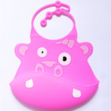 Baby Feeding Goods Silicone Toddler Bibs with Higher Catcher