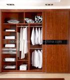 Solid Wood European Wardrobe Sliding Door (SD-37)