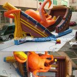 Giant Inflatable Kraken Octopus Slide for Fairground Sports