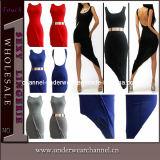 Fashion Women Low Back Short Summer Prom Dresses (TP4326)