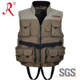 New Style Waterproof Fishing Vest with Ce Certificate (QF-1911)