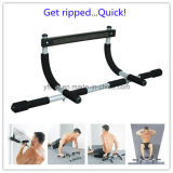 Door Gym Total Body Workout Bar with Ab Straps