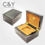 Luxury High Gloss Wooden Single Watch Packaging Box