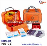 Auto Emergency First Aid Orange Nylon Kit for Car