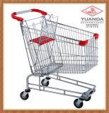 180L Supermarket Zinc Shopping Trolleys