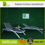 2017 Hot Sell Textilene Outdoor Patio Furniture Sun Lounger
