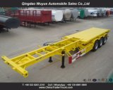 40FT 3 Axle Container Chassis with Jost Landing Gear