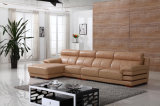 High Quality Italian Leather Sectional Sofa Furniture (N808)