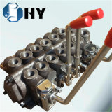 Hydraulic control valve 6 spool handle levers directional valve
