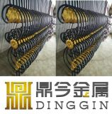 Square Steel Material Outdoor Wrought Iron Stair Railings Balusters Wholesale