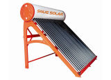 Red Color Galvanized Steel Solar System