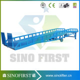 10ton 12ton Manual Hydraulic Stationary Container Yard Ramp