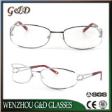 Fashion New Design Metal Glasses Optical Frame Eyeglass Eyewear 91806