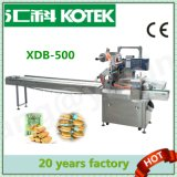 Xdb-500 Three Servo Automatic Filling Sealing and Forming Food Packing Machine Bakery Equipment Egg Biscuit Wafer Roll Packaging Machine