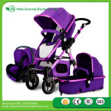 2017 Factory Cheap Sales Gold Baby Stroller + Car Seat